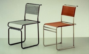 Tubular Steel Chairs, 1928-29 Marcel Breuer from Bauhaus-Archiv, Berlin
