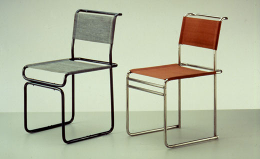 Tubular Steel Chairs 1928-29 Marcel Breuer from Bauhaus-Archiv Berlin & breuer chairs u2013 Seats And Stools